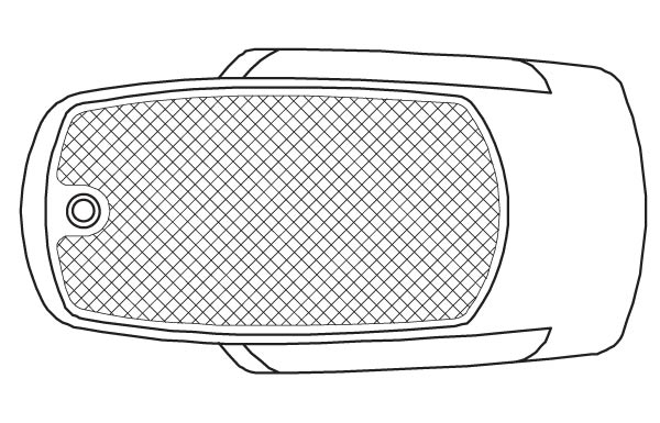 Illustration of a 63 inch by 33 inch Rectangle Drop-In Tub from the Vena and Quarzo Collections.